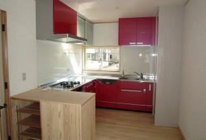 キッチン 造作