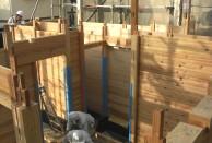 板倉づくり 建て方