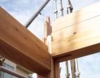 手刻み 木組み 板倉造り