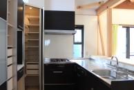 キッチン 収納力