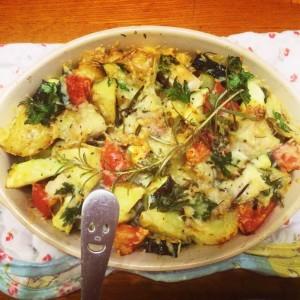 ズッキーニ 夏野菜のオーブン焼き