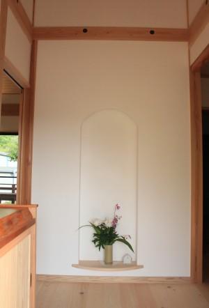 漆喰 玄関