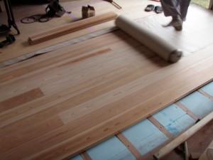 杉板フローリング