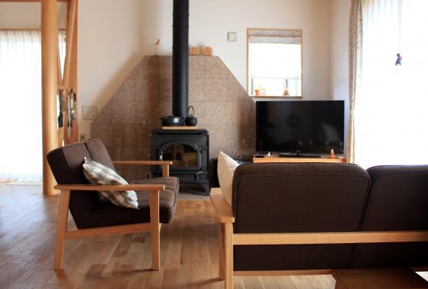 自然素材の家 厚木市
