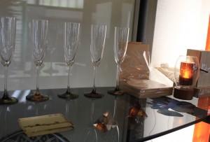 漆 シャンパンフルート
