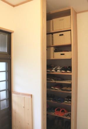 靴 収納スペース