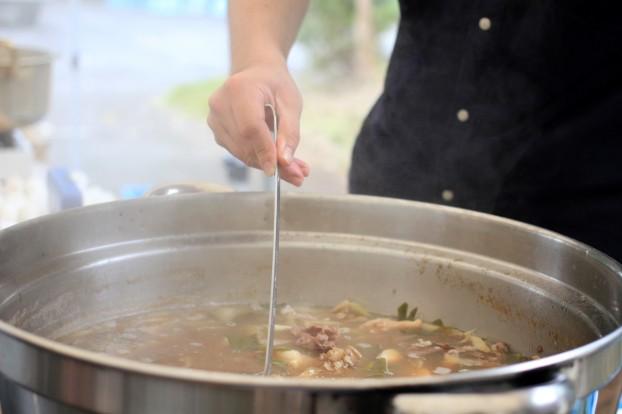 トレカフェ芋煮