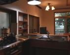 造作キッチン木のキッチン