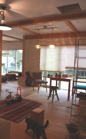 自然素材工房のお宅訪問愛川町