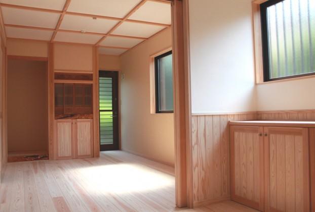 自然素材手造り建具