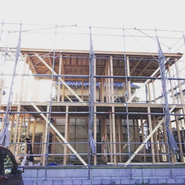 横浜市伝統工法手刻みの家