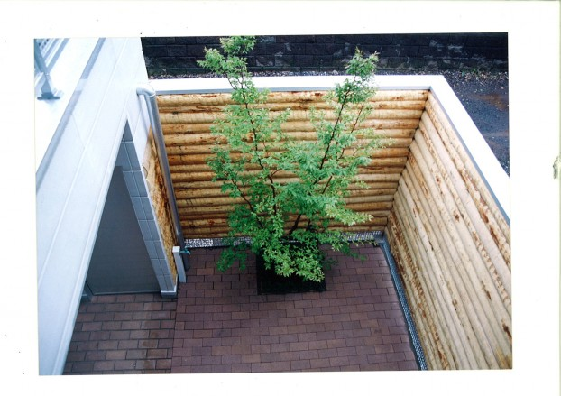 木製目隠しフェンス