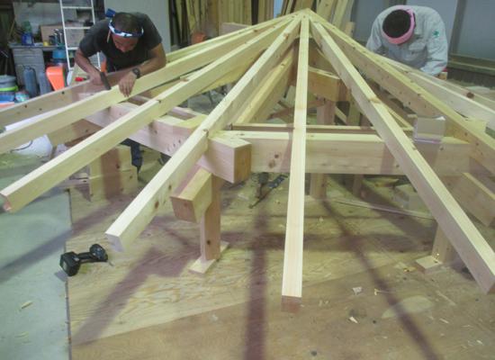 木組み曲線