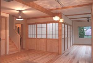 愛川町木の家注文住宅