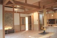横浜市木の家造作浴室