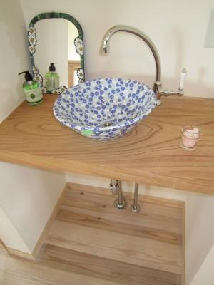 造作浴室自然素材
