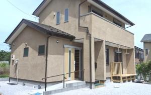 大磯町板倉づくりの家