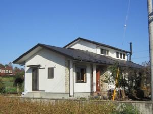 古材利用の家7