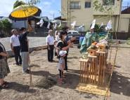 大磯町で地鎮祭が執り行われました。