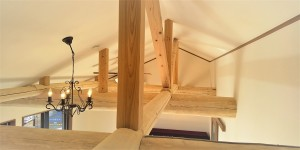 厚木市木の家勾配天井