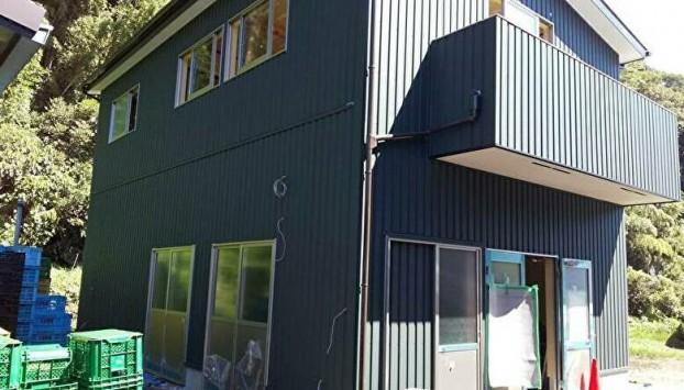 農業用倉庫2階建て